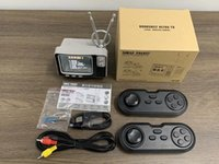 Portable Game Players Drops Hipping Retro TV Handheld Video Console With 2 Wireless Controllers Built-in 108 For NES AV Out