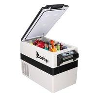 42L 고품질 휴대용 야외 소형 냉장고 냉장고 쿨러 냉장고 미니 자동차 냉장고 쿨러 콜드 박스 캠핑 기계 압축기