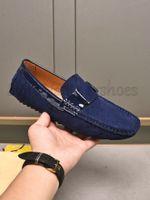 Hockenheim MOCASSIN Schuhe Müßiggänger geprägtes Ledermonte Carlo Mokassin Slip-on Velet Designer Männer Sneaker Gummi-Außensohle Gedruckt Casual Schuhleiste Schuhe