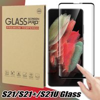 Full Glue Case Friendly 3D Screen Protectors Tempered Glass For Samsung Galaxy S21 S20 note20 Ultra Note 10 9 8 Plus S10 S9 S8 S7 Edge with retail Package