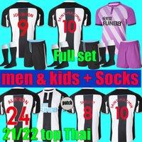 21 22 Jerseys de futebol Home United Shelvey Wilson 2021 2022 Joelinton Camisa de futebol Almiron Ritchie Gayle Lewis Lascelles Goleiro Homens Kits Kits Set Socks Uniform