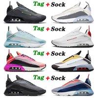 nike air max airmax 2090 Yeni Varış 2090 Spor Koşu Ayakkabıları Erkek Bayan Saf Platin Üçlü Beyaz Lazer Mavi Magma Turuncu HavaMaksimumAirmax eğitmenleri 36-45