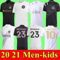 2021 Kids Kit Lafc Carlos Vela Soccer Jerseys Los Angeles La Galaxy Chicharito Inter Miami Beckham Black Atlanta United Football Shirts