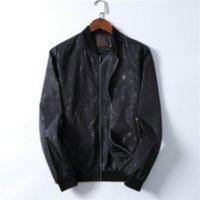 클래식 프린트 남성용 재킷 인스 타 그램 패션 까마귀 트렌치 디자이너 여성 캐주얼 방진 의류 가을 성격 매력 ZPPER 코트 아시아 크기 M-3XL A19