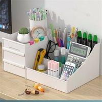 Kosmetische Organizer Aufbewahrungsbox Fall Make-up Schublade Halter Pinsel Pen Schmuck Mehrzwecknutzung Make-up Cosmetic Organizer 210309