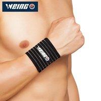 Handgelenkstütze WP 2021 Sportwolle-elastische Bandagehandband-Gymnastasche Tennisball Weltcup gleich