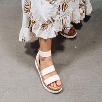 Femmes Plateforme Sandales Femmes Peeep Toe High Dihope Heel Bougies Bougies Sandalie Espadrilles Femme Sandales Chaussures Sparx Sandales Bleu Chaussure C7XW #