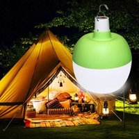 USB 충전 조명 LED 비상 전구 휴대용 야외 캠프장 마구간 낚시 후크 전구