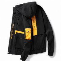 Erkek Ceketler İlkbahar Sonbahar Rahat Moda Bombacı Hip Hop Ceket Erkekler Tasarımcı Japon Palto Beyzbol Ceketler Mont