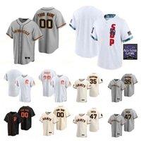 المدينة Connect 2021 All-Star Game Baseball Jerseys 56 Zack Littell 73 Sammy Long 10 Evan Longoria 54 Reyes Moronta 5 Mike Yastrzemski الرجال النساء الشباب مخيط