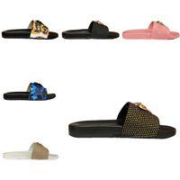 2021NENNS Womens Top Quality Paris Cursori Sandali estivi Sandali Spiaggia Pantofole da spiaggia Ladies Flip Flops Mocassini Black Bianco Rosso Green Slides Shoes Shoes