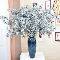 Lüks Dekoratif Çiçekler Çelenk Ipek Simülasyon Merkezi Yuelan Sancha 30 Kafa Set Kılavuzu Sanat Sahte Çiçek Düğün Ev Dekorasyon Sapı