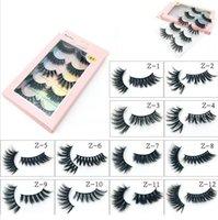 quality 5 Pairs Faux 3D Mink Lashes Bulk False Eyelashes Natural Strips Short Wispy Eyelashes Makeup Tools