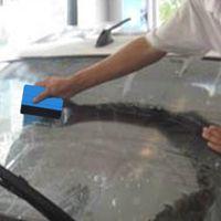 Автомобиль виниловые пленки обертованные инструменты 3M Squeegee с войлочной мягкой стеной бумаги скребок мобильного экрана Защитная установка Squeegee Tool qc73