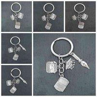 Keychain Cute Laptop Hanger Keyhangers Pen Bag Charm Key Study Souvenir Computer Student