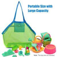 Duffel Bags Outdoor Swimming Beach Bag Foldable Mesh Waterproof For Kids Toy Tote Sport