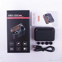 TWS Q32 top quality Wireless Earphones 5.0 for phone stereo music Sport Handsfree Earbuds waterproof earphone portable Mini headphones with charging case nice