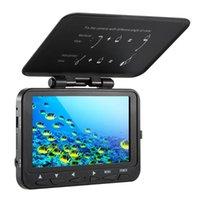 1000TVL Fischfinder Unterwasser-Eisfischen-Kamera mit Trolling-Rolle 8 Infrarot-IR-LEDs Nachtsicht-Kamera 15m / 30m Kabel
