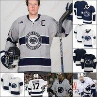 Penn State Nittany Lions Hockey Jersey Jersey Liam Folkes Brandon Biam Numéro Numéro Connor Macachern Nikita Pavlychev Clayton Phillips