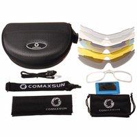 Очки Professional TR90 Велоспорт Comaxsun 5 очки Открытый 2 Солнцезащитные очки Велосипед УФ 400 Спорт Поляризованный объектив с велосипедным стилем ESFQL