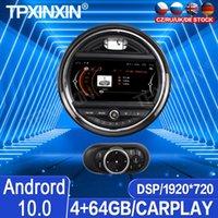 Joueur Android 10.0 4G + 64GB CARPLAY POUR MINI COOPER 2021 - Radio multimédia IPS DSP Enregistreur Vidéo Navigation Vidéo GPS voiture DVD
