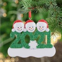 Christmas Decorations Resin Personalized Snowman Family of 4 Christmas Tree Ornament Gift for Mom Dad Kid Grandma Grandpa GWB10886