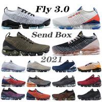 2021 Fly 3.0 Erkek Koşu Ayakkabıları Asil Kırmızı Koyu Gri Toplam Turuncu South Beach Canlı PPurple Örgü 3.0 Kadınlar Ourdoor Sneakers
