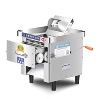 Meat Grinders LEIBINCommercial Fish Cow Steak  Cutter Table Electric Band Saw Bone Cutting Machine