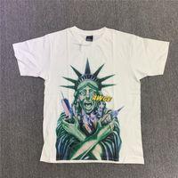 2021ss 2021 Yeni Hip-Hop Tavşak T Gömlek Erkek Kadın Boy Yüksek Kaliteli Yaz Tarzı Moda Rahat Top Tees Streetwear T-Shirt Zelh U46A