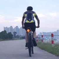 Интеллектуальные беспроводные велосипедные сигналы поворота сигнала переднего и заднего светодиодного направления Индикатор велосипеда аксессуар B2Cshop