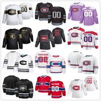 Montreal Canadiens Jerseys Uomo Donna Kid Cale Floury Shea Weber Paul Byron Byron Charles Hudon Nate Thompson Keith Kinkaid hockey hockey maglie personalizzate