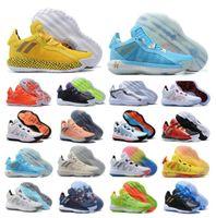 Yeni Damian Lillard Vi Süet 6 S 6 6Th Bruce Lee Basketbol Ayakkabıları Erkek Sho Spor Dame Eğitmenler Spor Ayakkabı