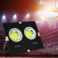 Светодиодный наводненный свет 100W 150W 200W проектор отражатель водонепроницаемый 220V светодиодный COB чип прожектор пятно света наружная профессиональная лампа