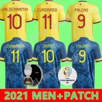 كولومبيا كوادرادو فالكاو لكرة القدم جيرسي 2021 22 Cardona Borja Sanchez Muriel Mailleots De Zapata Mina Borre Uribe كرة القدم قميص كيت