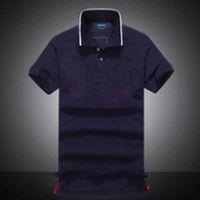 패션 여름 남성 폴로 셔츠 럭셔리 짧은 소매 폴로 셔츠 망 의류 탑 티 남성용 폴로스 브랜드 디자이너 티셔츠