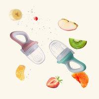 4 ألوان الطفل هوة الحلمة الغذاء الطازج حليب الفاكهة تغذية زجاجة القاضم تعلم التغذية شرب المياه مقبض التسنين مصاصة