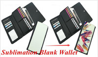 Blank Sublimation Wallet Leather Purse Handbag for Hot trans...