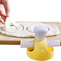 Pişirme Pasta Araçları Yaratıcı DIY Çörek Kalıp Kek Ekmek Kesici Makinesi Dekorasyon Tatlı Malzemeleri Mutfak Aracı