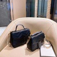 Frauen Designer Handtaschen Umhängetaschen 2 Größe Echtleder Hohe Qualität Dame Mode Marmont Tasche Original Crossbodypurses Rucksack Tote
