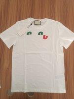 19SS Flash Verão T Camisa Estilista Homens Tee Feito em Itália Moda Curta Mangas Letras Impresso T-shirt Mulheres Roupas Mulheres S-2XL