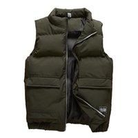 Men's Vests Vest Men Autumn Winter Jackets Thick Sleeveless Coats Male Warm Cotton-Padded Waistcoat Gilet Veste Hommes Plus Size 8XL 6