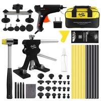 Professional Hand Tool Sets PDR Dent Repair Kit Black Glue Gun Pulling Bridge Removal Puller Paintless Repairs Set For Car Body Tools