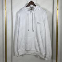 رجل هوديس البلوزات طويلة الأكمام مقنعين sweatershirt الرجال S الرياضة سترة الخريف الشتاء نسخة الرياضة من الرسالة الكلاسيكية طباعة
