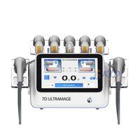 Most effective 2021 korea technology 7d hifu machine wrinkle removal anti aging fat ultrasonic burning
