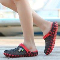 الصيف طفل الفتيان الفتيات croc الصنادل كعب مسطح الكرتون شاطئ لا الانزلاق النعال الأطفال حديقة الأحذية