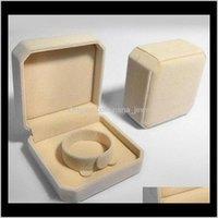 벨벳 쥬얼리 상자 9 * 9 * 4cm 팔찌 팔찌 상자 포장 Cajas de Regalo 선물 상자 Caixas 파라 프레 젠 도매 배송 TGF7O DWNRT