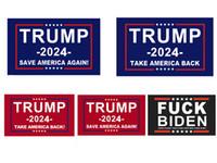 Флаг Трампа 2024 Избирательный флаг Баннер Дональд Трамп Флаг Храните Америку Большое снова Иванка Трамп Флаги 150 * 90см 3х5 футов Бесплатная доставка