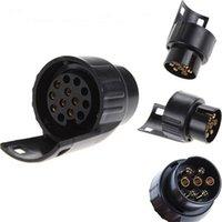 7 Pin bis 13-Pin-Mini-Auto-Lkw-Anhänger-Anschluss-Anschluss elektrischer Adapter-Stecker-Schlepper * I-Betriebssystem