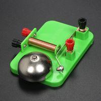 전기 벨 실험 중학교 고등학교 물리학 장비 1 차 재미있는 과학 교육 전자기 철 릴레이 도매.