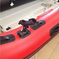 KAYAK DINGHY 뗏목 낚시 도구 풍선 보트 액세서리로드 홀더 장치 폴란드 PVC SUP 보드 KAYAKS FIXER FIX 극 마운트 앵글 브래킷